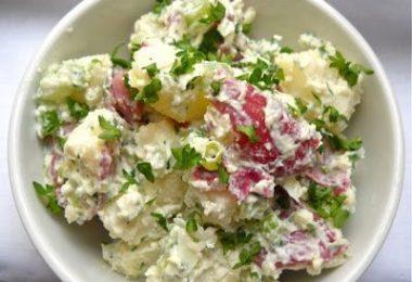 Picnic Potato Salad - BudgetBytes.com