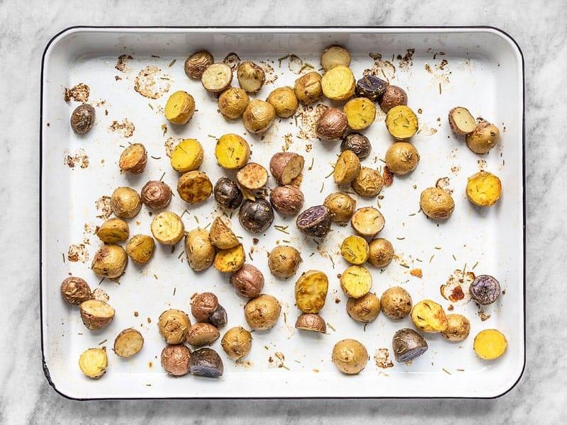 Rosemary Roasted Potatoes Finished