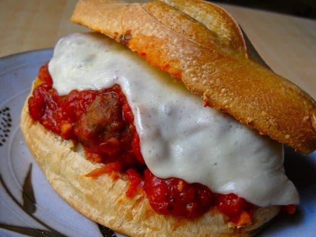 Meatball Sandwich - Budget Bytes