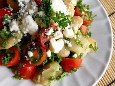 Mediterranean White Bean Salad