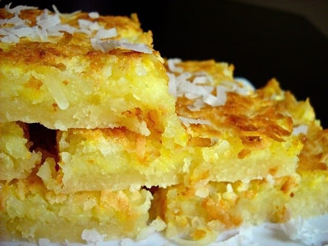 Lemon Coconut Bars - Budget Bytes