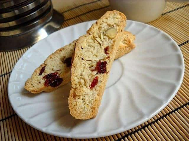 Cranberry Almond Biscotti - Budget Bytes