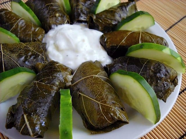 Dolmas (Stuffed Grape Leaves) - Budget Bytes