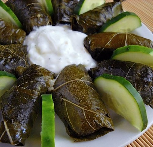 Dolmas Stuffed Grape Leaves Budget Bytes