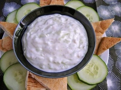 Tzatziki (Greek Yogurt Sauce)