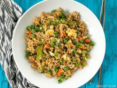 Vegetable NOT Fried Rice