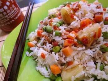 Coconut Rice Pilaf