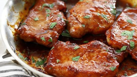 Sweet And Spicy Glazed Pork Chops Budget Bytes,Spicy Chinese Eggplant Recipe
