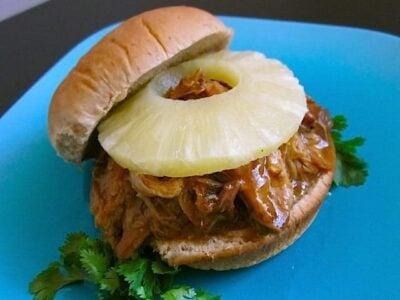 Teriyaki Pork Sandwiches
