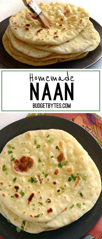 Homemade Naan - BudgetBytes.com