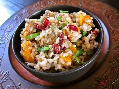 Holiday Wild Rice Dressing