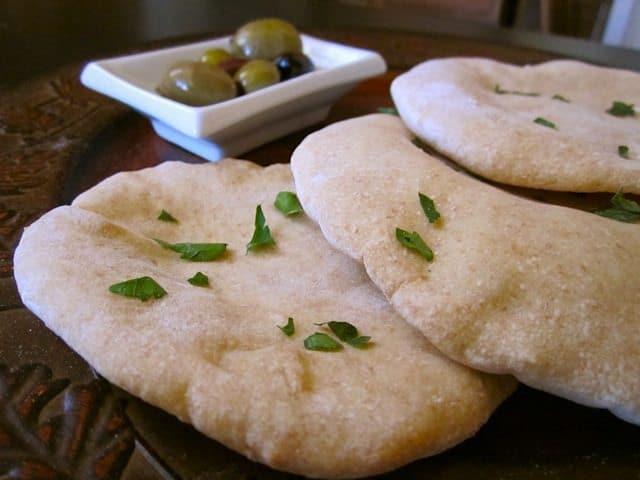 Homemade Simple And Fun Pita Bread Recipe Budget Bytes