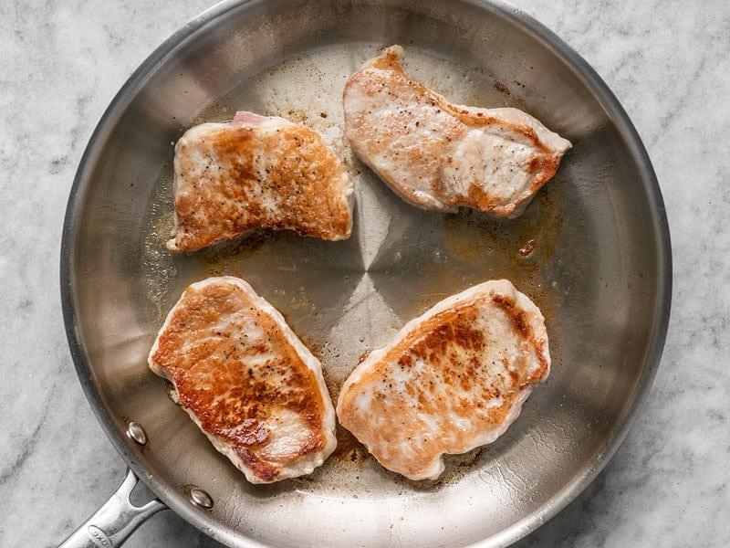 Browned Pork Chops