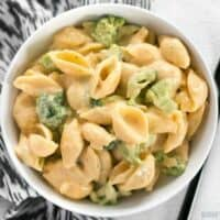 Broccoli shells n' cheese is a classic American dish that goes well along side any meal, or as a hearty side dish. 100% real, 100% homemade. BudgetBytes.com
