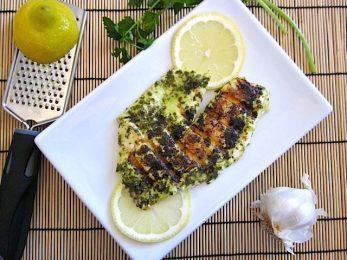 Lemon Garlic Fish