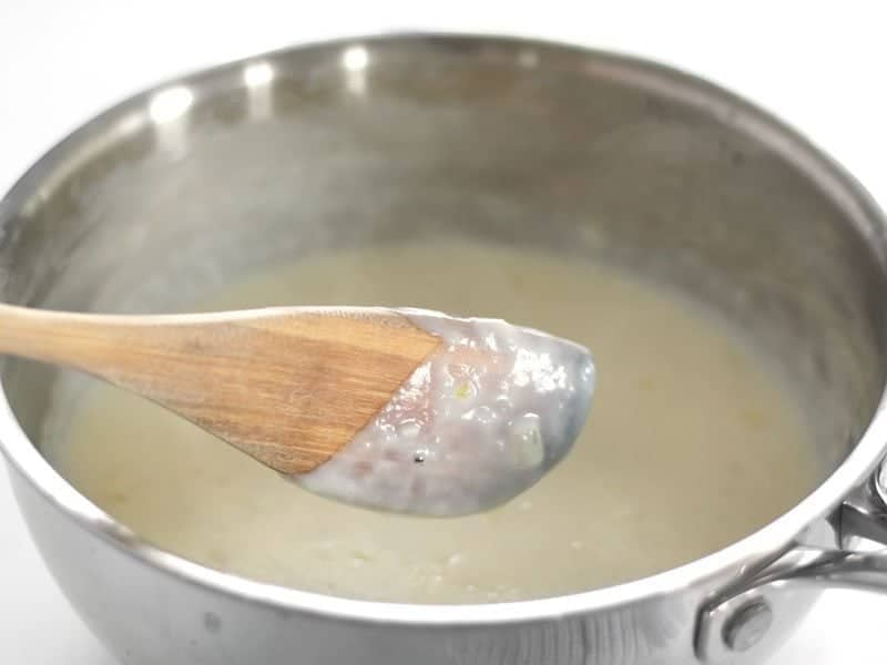Thickened White Sauce