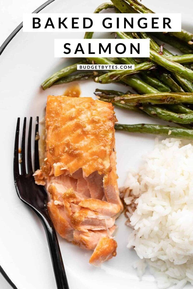 Baked Ginger Salmon