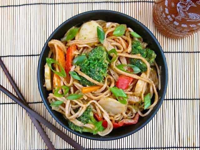Soba, Tofu, And Vegetable Stir-Fry Recipe — Dishmaps