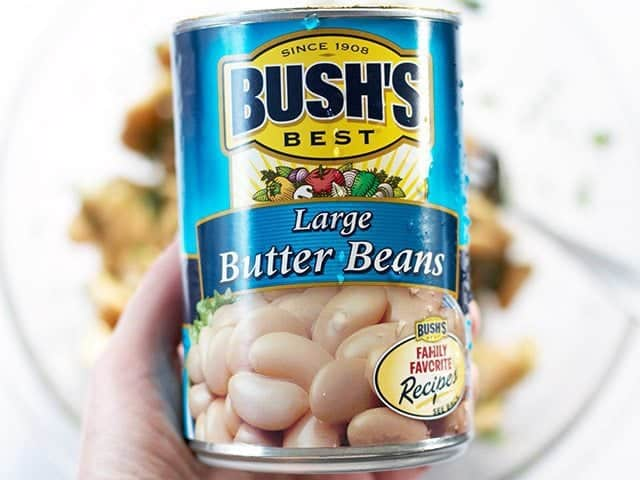 Butter Bean Can