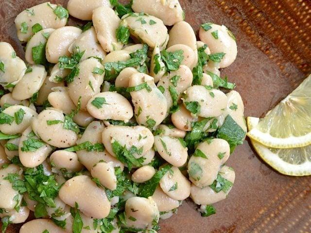 Marinated White Beans