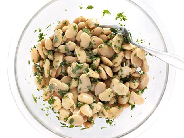 Mixed Marinated White Beans