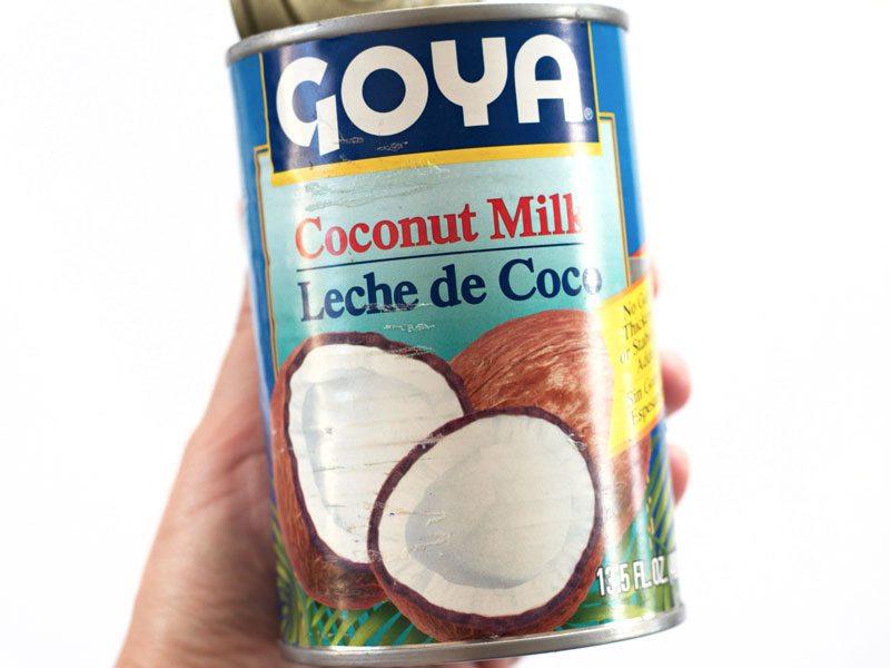 Coconut Milk in can