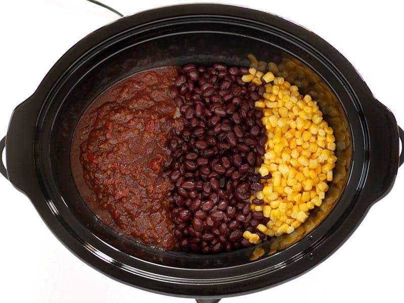 Salsa Beans Corn