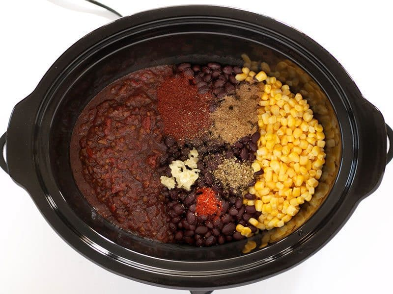 Spices in Slow Cooker
