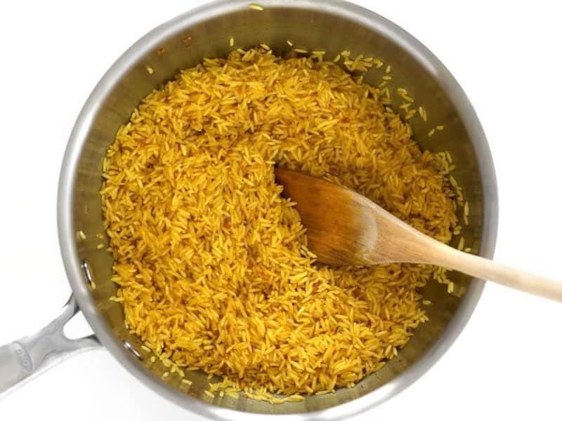 Toast Rice