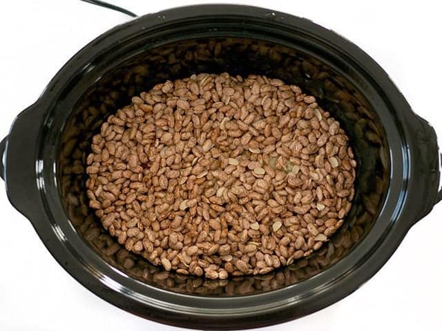 Beans in Slow Cooker