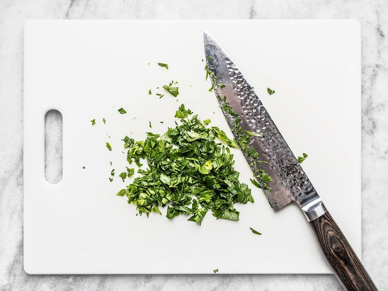 Chop Parsley