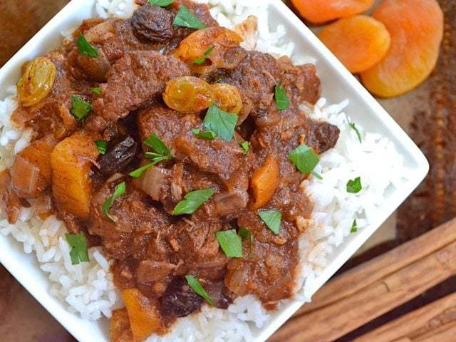 moroccan beef stew - Budget Bytes