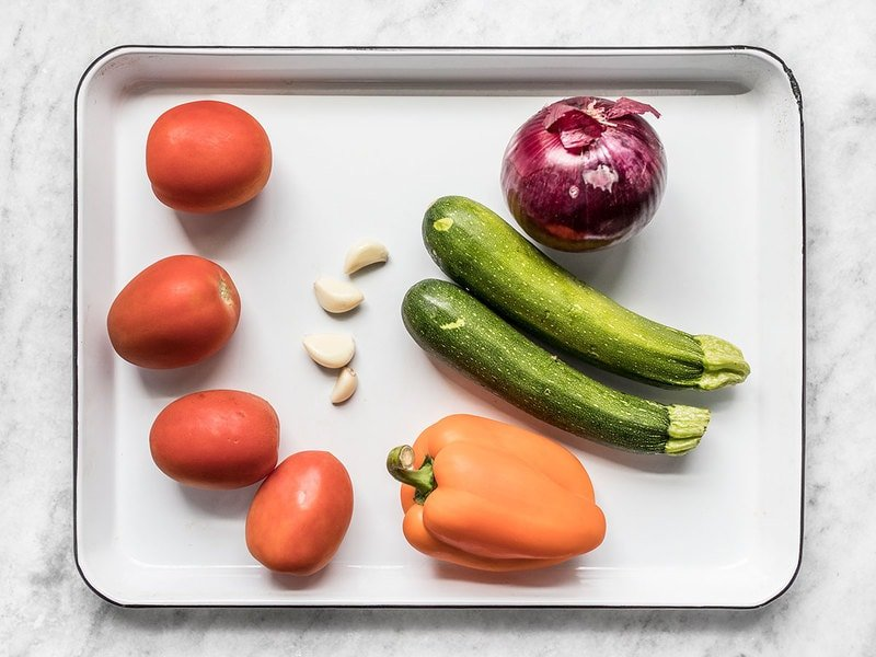 Whole Vegetables for Couscous