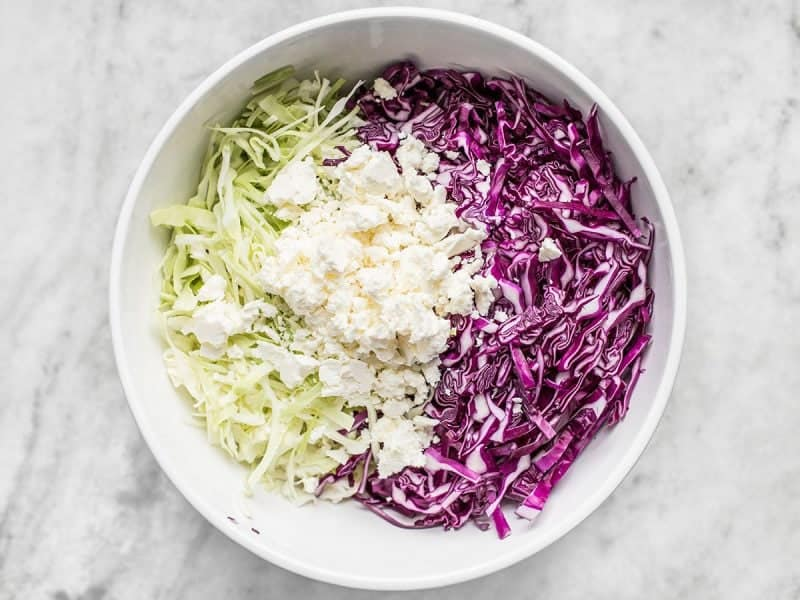 Cabbage and Feta
