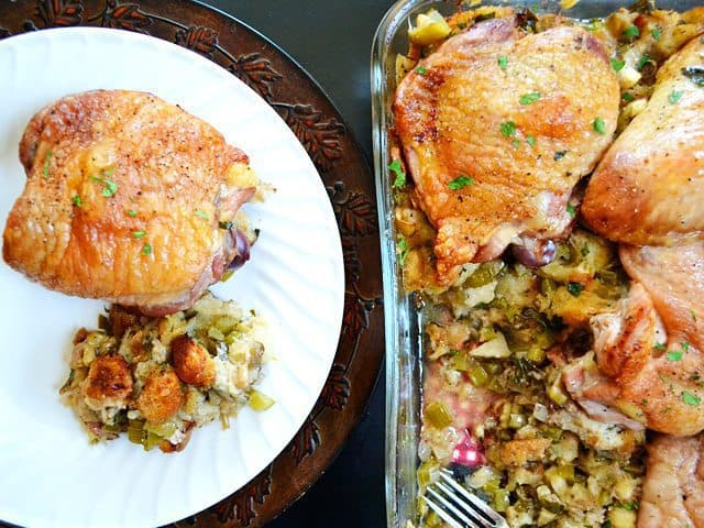 Turkey Stuffing Casserole
