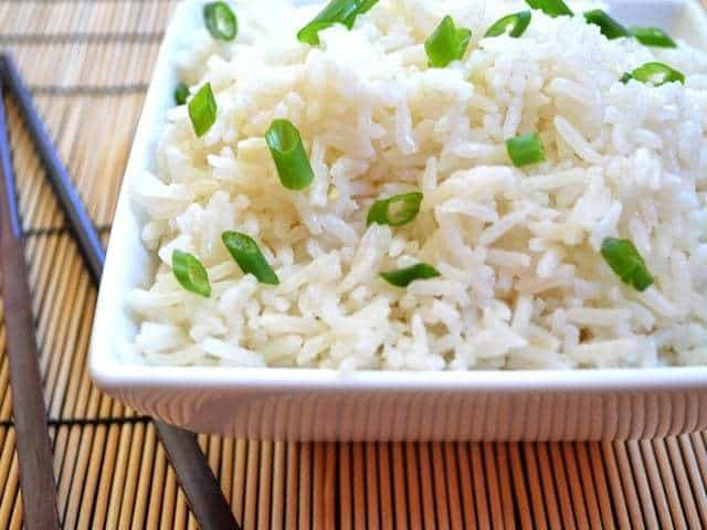 Savory Coconut Rice - Budget Bytes
