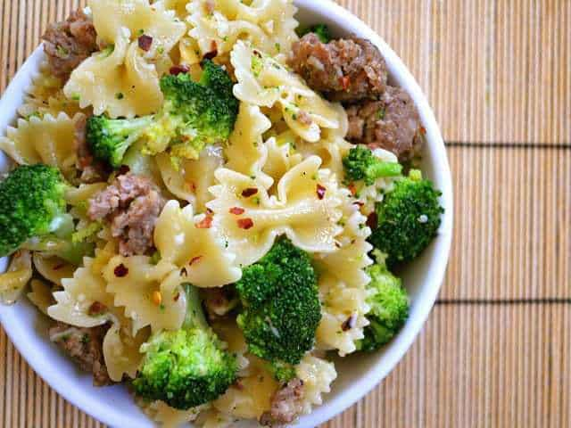 Bowtie Pasta Ground Beef Recipes