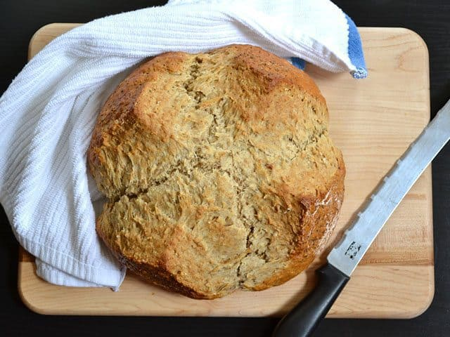 brown butter soda bread - Budget Bytes
