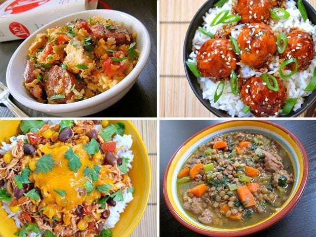 Top Ten Freezer Meals