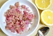 lemon raspberry baked oatmeal