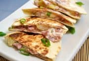Hawaiian Ham Quesadillas
