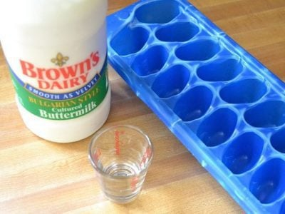 How To: Freeze Buttermilk