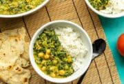 Chana Saag – Chickpea and Spinach Curry