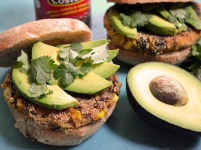 Chipotle Sweet Potato Burgers
