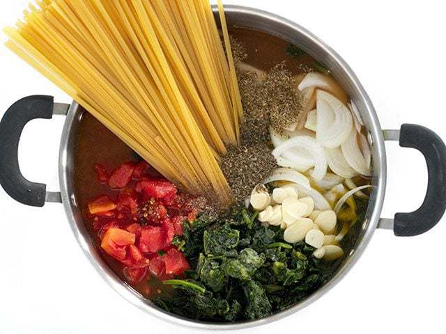Italian Wonderpot Ingredients