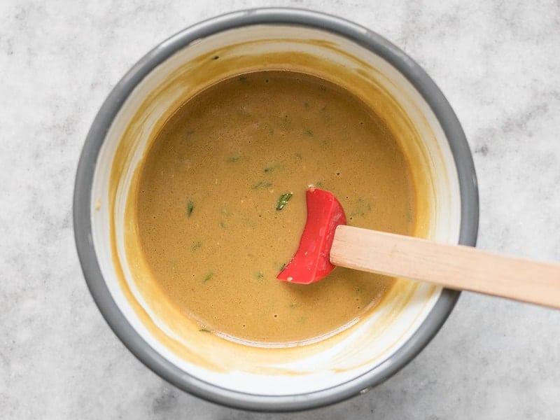Maple Dijon Sauce Mixed