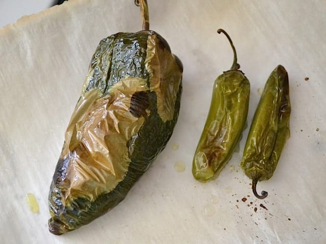 roasted poblano pepper