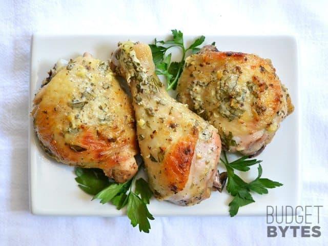 Greek Marinated Chicken - BudgetBytes.com