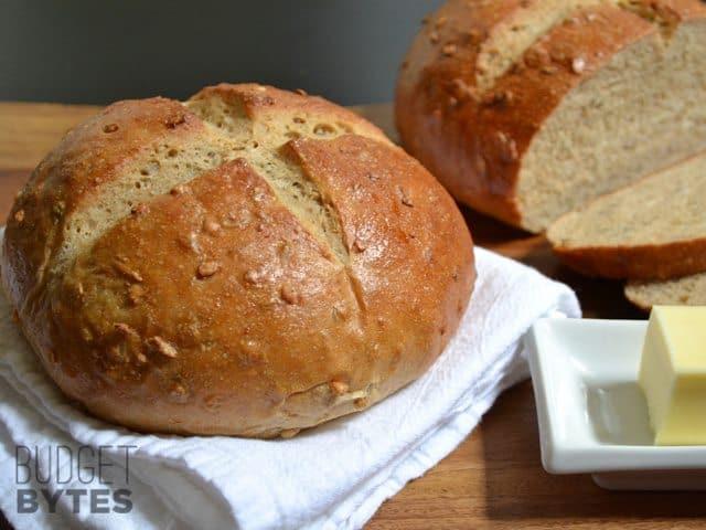 Honey Sunflower Bread