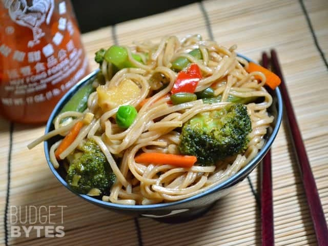 teriyaki chicken stir fry with udon noodles recipe